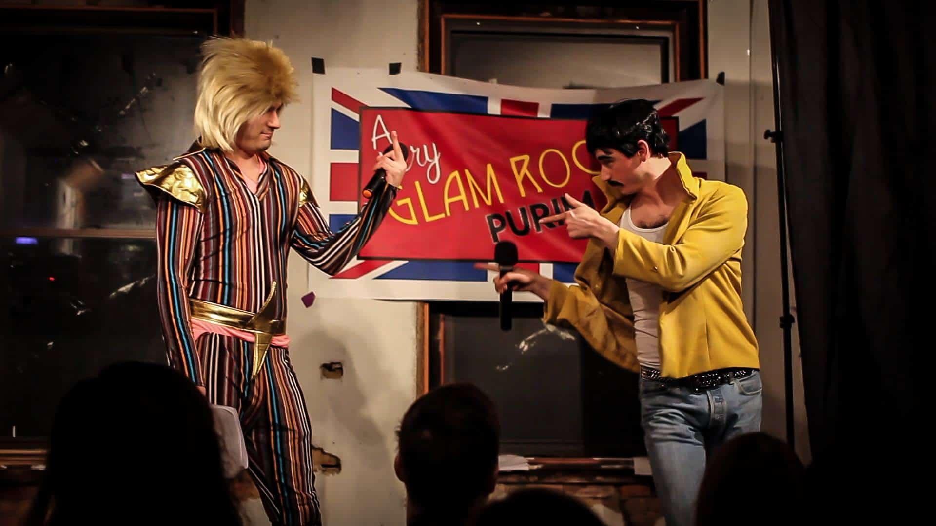 Freddie Mordachai, Haman Bowie - A Very Awesome Purim