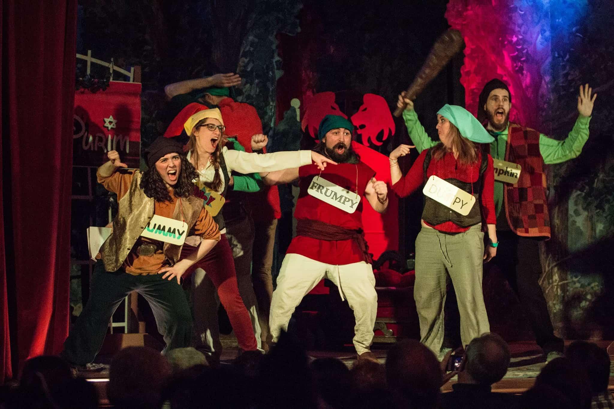 The 7 Guards - Very Disney Purim