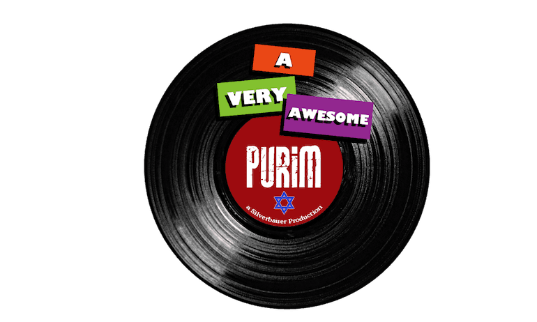 A Very Awesome Purim Party - Logo